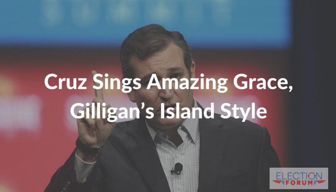 Cruz Sings Amazing Grace, Gilligan's Island Style