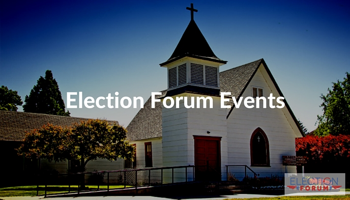 Election Forum Events