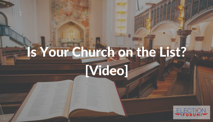 Is Your Church on the List? [Video]