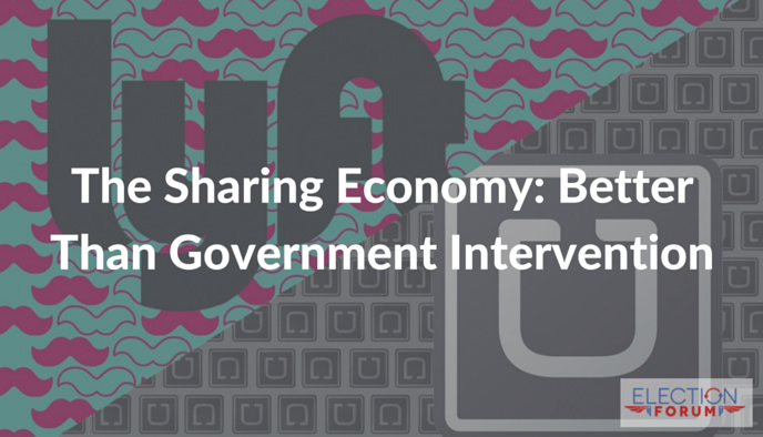 The Sharing Economy: Better Than Government Intervention