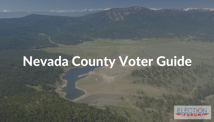 Nevada County Voter Guide