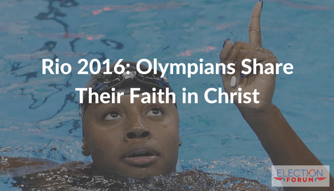 Rio 2016: Olympians Share Their Faith in Christ