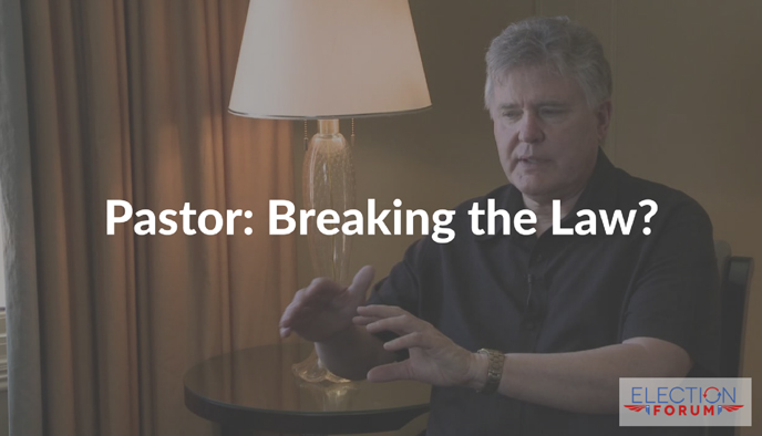 Pastor: Breaking the Law?