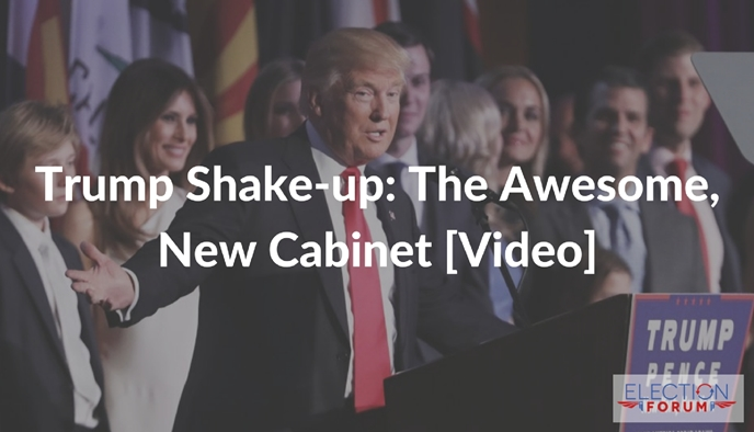 Trump Shake-up: The Awesome, New Cabinet [Video]