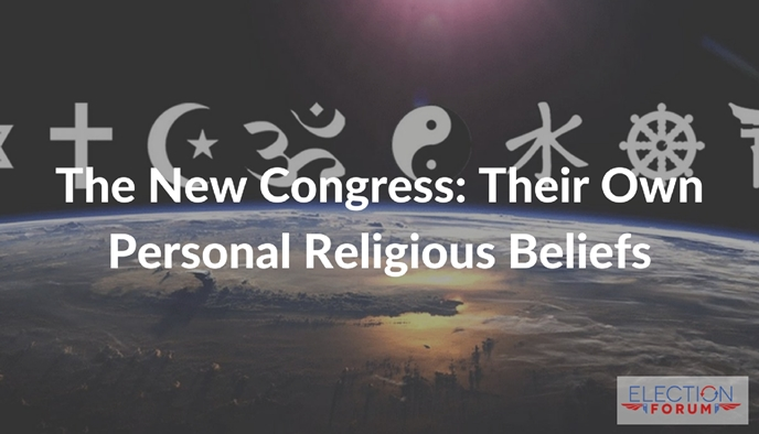 The New Congress: Their Own Personal Religious Beliefs