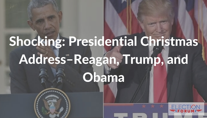 Shocking: Presidential Christmas Address--Reagan, Trump, and Obama