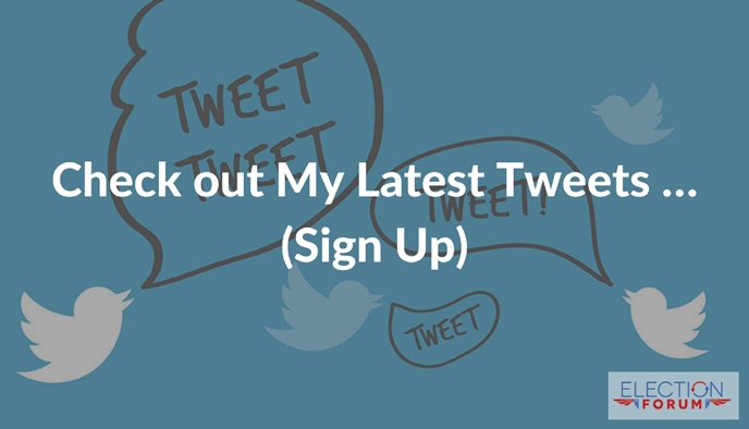 Check out My Latest Tweets ... (Sign Up)