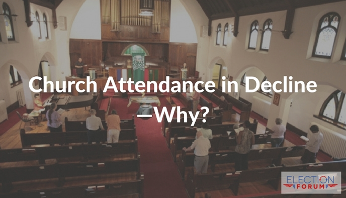 Church Attendance in Decline—Why?