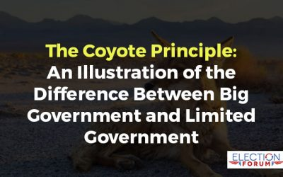 The Coyote Principle: An Illustration of the Difference Between Big Government and Limited Government