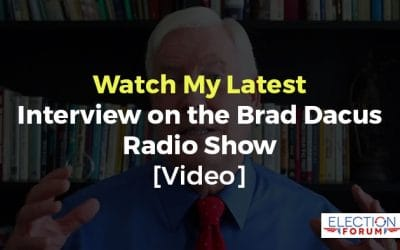 Watch My Latest Interview on the Brad Dacus Radio Show [Video]