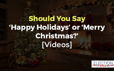 Should You Say 'Happy Holidays' or 'Merry Christmas?' [Videos]
