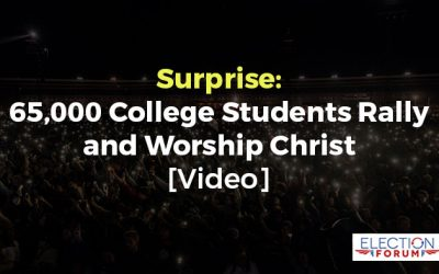 Surprise: 65,000 College Students Rally and Worship Christ [Video]