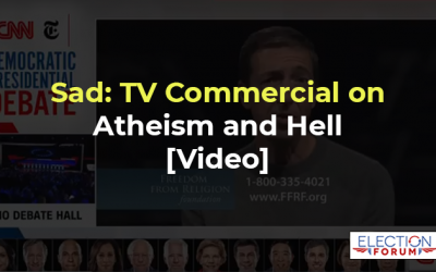 Sad: TV Commercial on Atheism and Hell [Video]