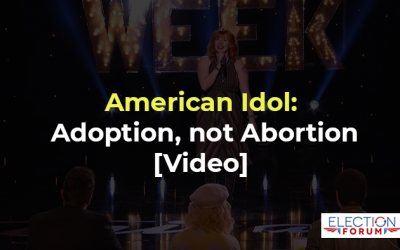 American Idol: Adoption, not Abortion [Video]