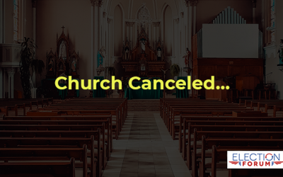 Church Canceled…
