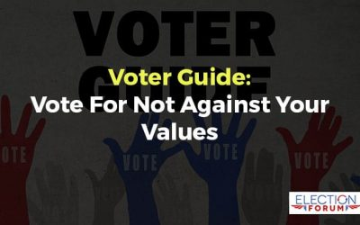 Powerful Reader Letter:  How the Voter Guide Helped Them Vote For and Not Against Their Values in 2020 for District Attorneys, Judges, and candidates.
