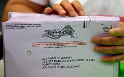 Ballot Harvesting Corruption in California Begins. I Warned Larry Elder. Now It's Happening. [Shocking, Disturbing Video of Election Fraud Before Your Very Eyes]
